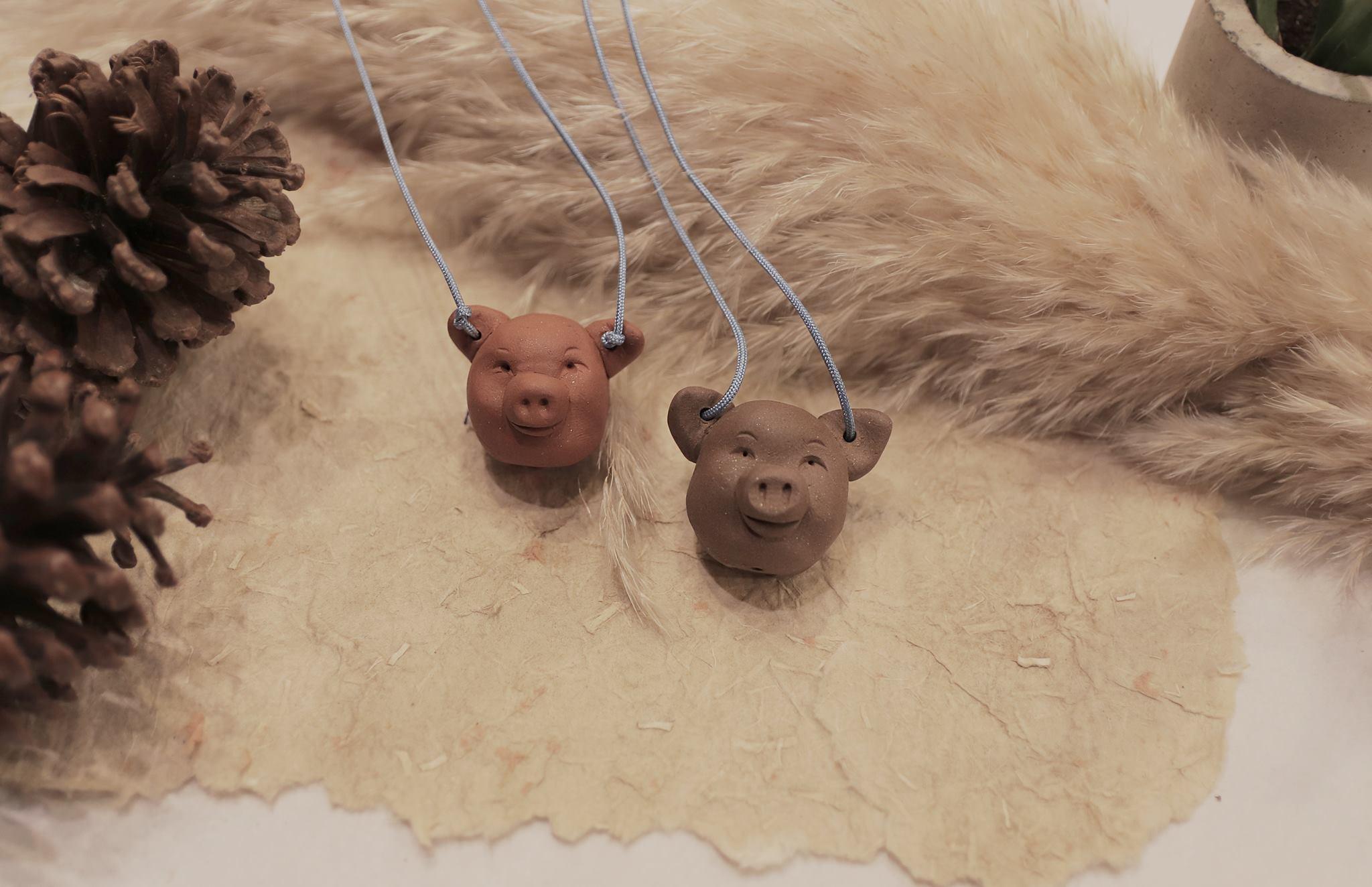 【道禾六藝文化館 X 蔡宗翰陶笛工作室】 手作小豬陶哨~會發出聲音的小陶器